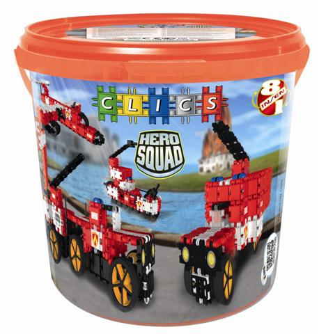 CD004 Hero Squad Fire Brigade Drum od CLICS.pl