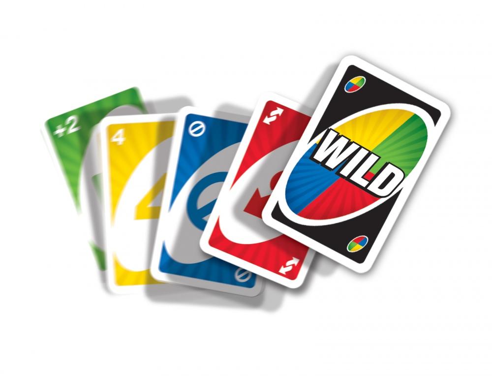 W2087 Mattel Karty Uno Gra Karciana Towarzyska 108 4 Karty Clics