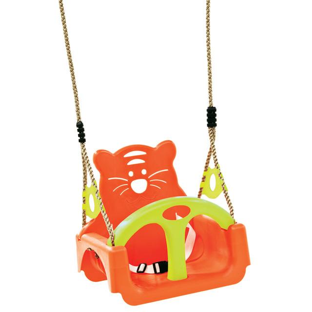Ekstremalne Huśtawka kubełkowa siedzisko dla dzieci 3w1 orange CLICS.pl  @UF-44