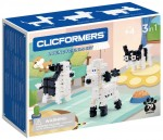 806002 Klocki CLICFORMERS Loving Friends black & white