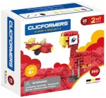 807001 Klocki CLICFORMERS Craft set red 25el