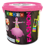 CD005 Klocki CLICS Glitter FASHION Drum