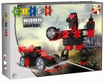 AB001 Klocki CLICS Robo Racers Box Red