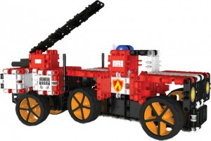 CD004 Fire truck and trailer od CLICS.pl